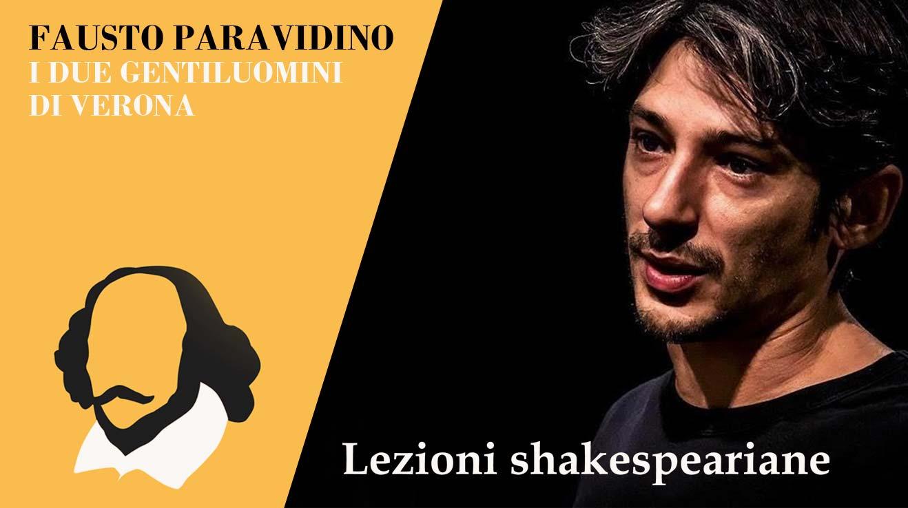 Fausto Paravidino | I due gentiluomini di Verona